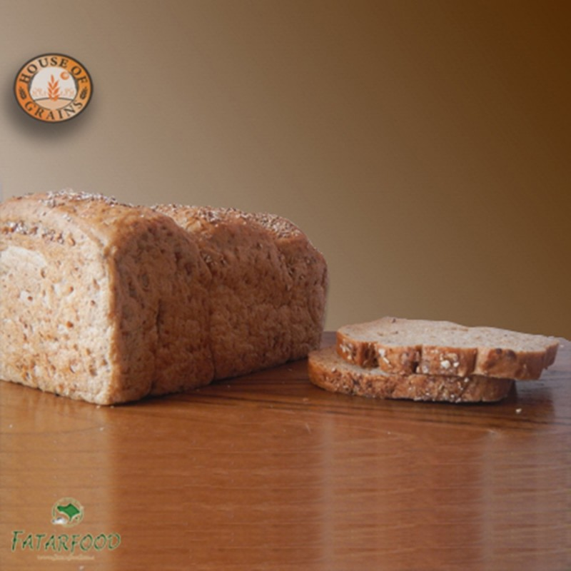 Light Pumpernickel Bread (House of Grains by FatarFood)