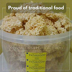 Rengginang Aja (Rice Snack Crunches) by Fatar Food 50 Gr