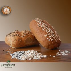 Mix Roll Bread 150 Gr x 2 (House of Grains) ~ (GoldKorn/Kraftkorn in small roll)